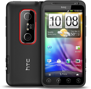 HTC EVO 3D Specs