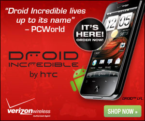 Best Deal on DROID Incredible