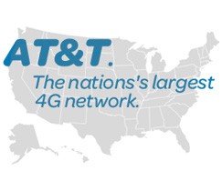 at&t 4G network