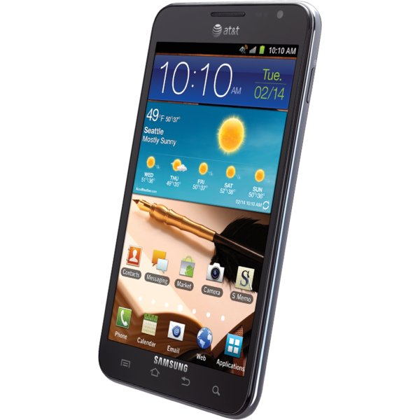 Samsung Galaxy Note Screen